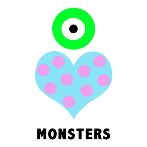 Eye Heart Monsters - Men's Premium T-Shirt