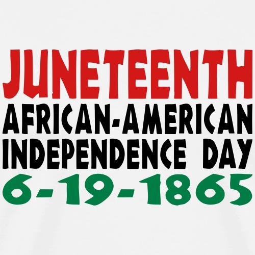 Junteenth Independence Day - Men's Premium T-Shirt