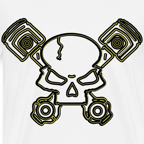 Piston Head - Men's Premium T-Shirt