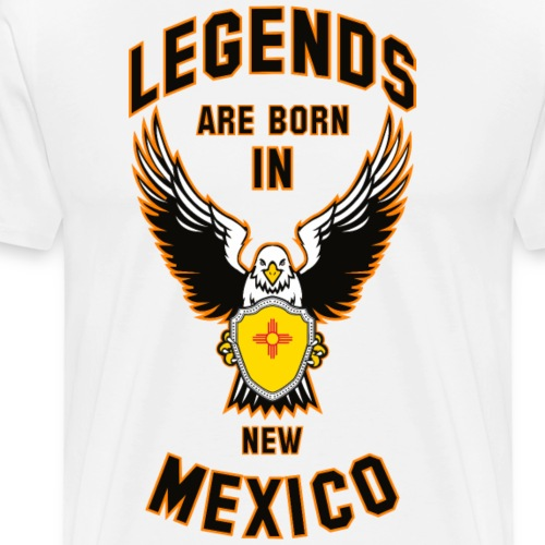 Legends are born in New Mexico - Men's Premium T-Shirt