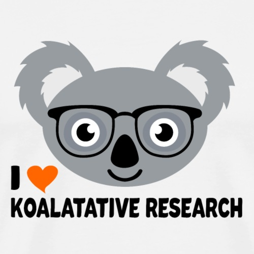 Koalatative Research - Men's Premium T-Shirt
