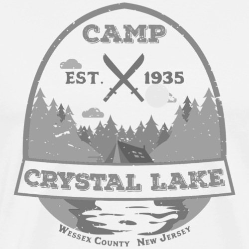 Camp Crystal Lake - Men's Premium T-Shirt