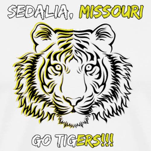 Sedalia Tigers 2 - Men's Premium T-Shirt