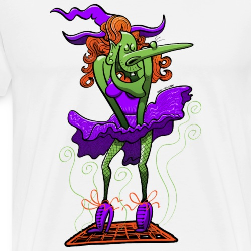 Halloween Sexy Witch - Men's Premium T-Shirt