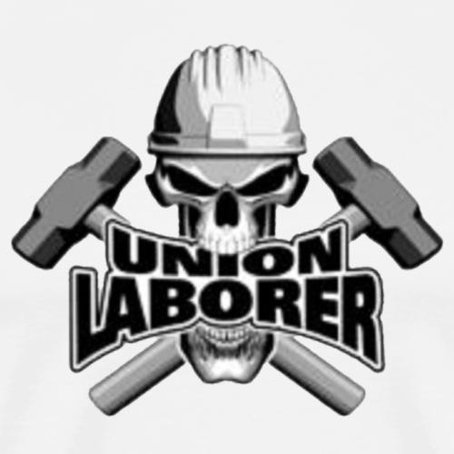 posatubi  pipelayer-posatubi Union-laborer-skull-hammers-mens-premium-t-shirt