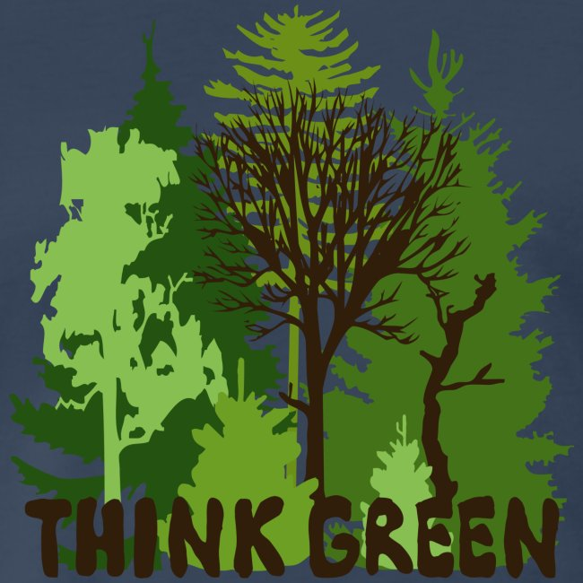 EARTHDAYCONTEST Earth Day Think Green forest trees