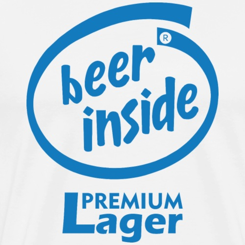Beer Inside Premium Lager - Men's Premium T-Shirt