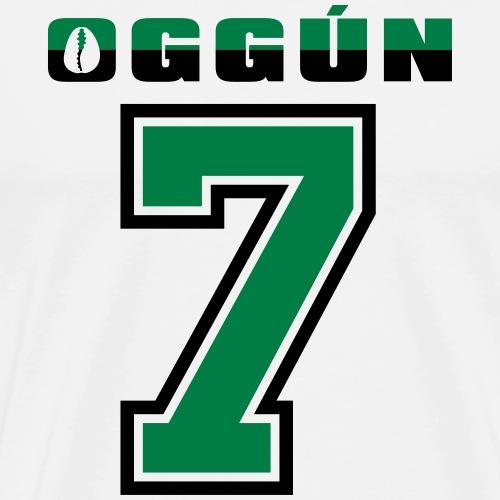 Oggun No 7 on white