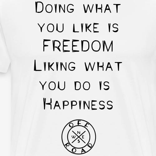 freedom-happiness - Men's Premium T-Shirt