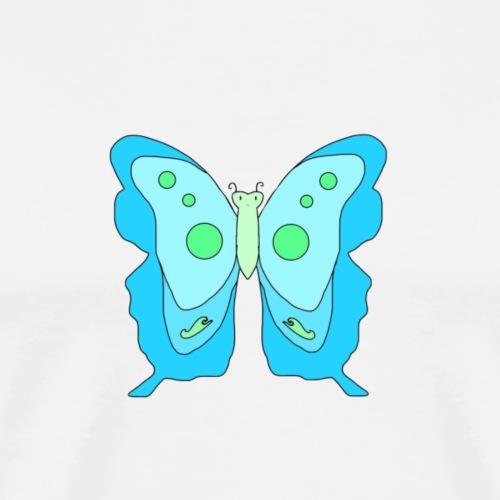 Blue Butterfly - Men's Premium T-Shirt
