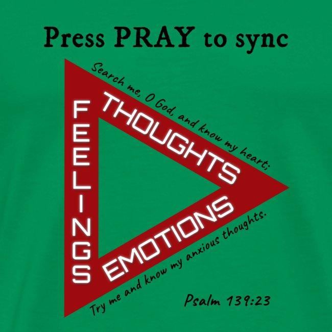 Press PRAY to Sync