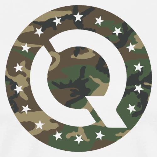 Q17 Woodland Camo - Men's Premium T-Shirt