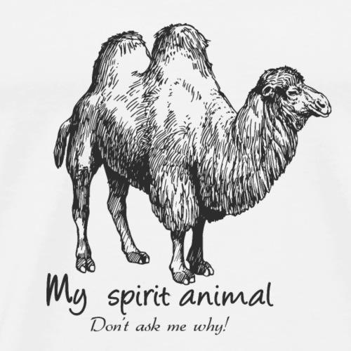 camel Spirit Animal - Men's Premium T-Shirt