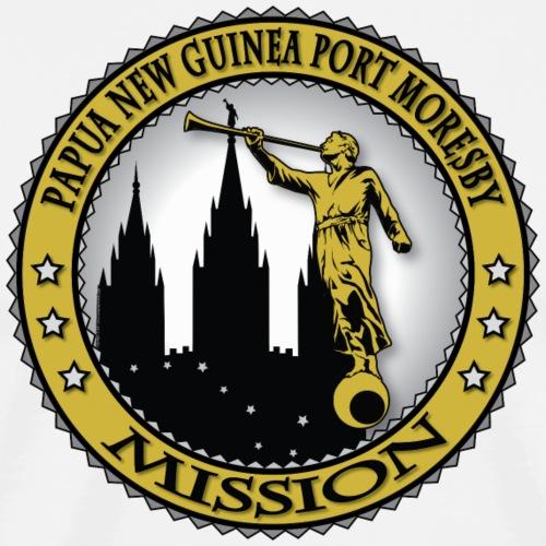 Papua New Guinea Port Moresby Mission - LDS - Men's Premium T-Shirt