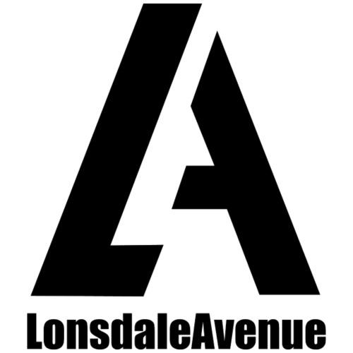 Lonsdale Avenue Logo Black Text