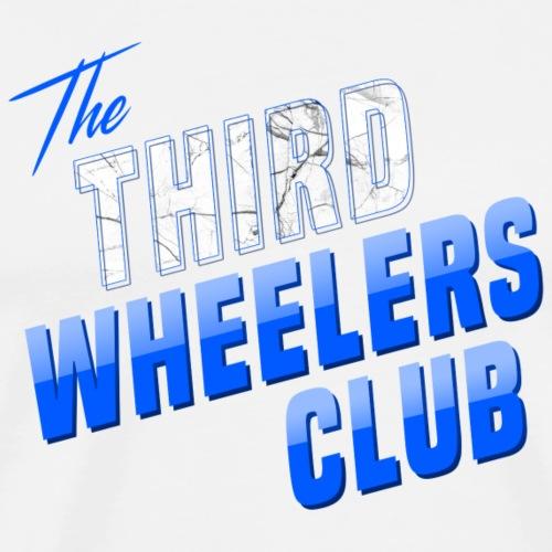 the Third Wheelers Club Blue - Men's Premium T-Shirt