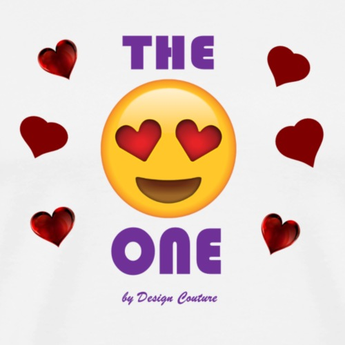 THE ONE PURPLE - Men's Premium T-Shirt