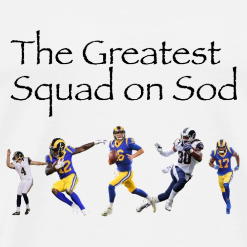 Squad on Sod - Men's Premium T-Shirt