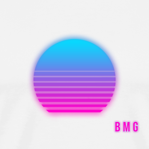 Synthwave Sun | BMG - Men's Premium T-Shirt