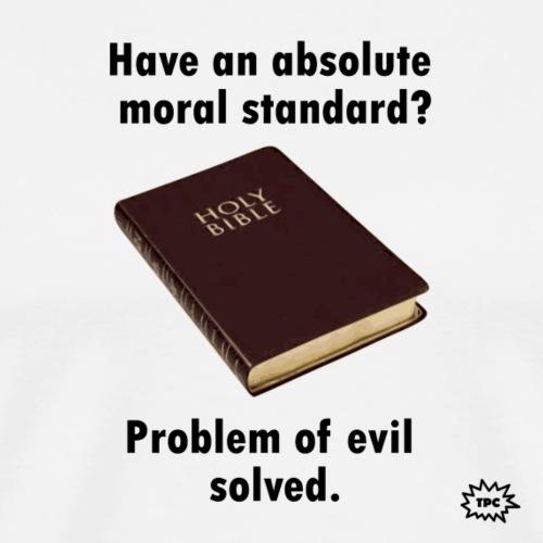 Problem of evil solved2