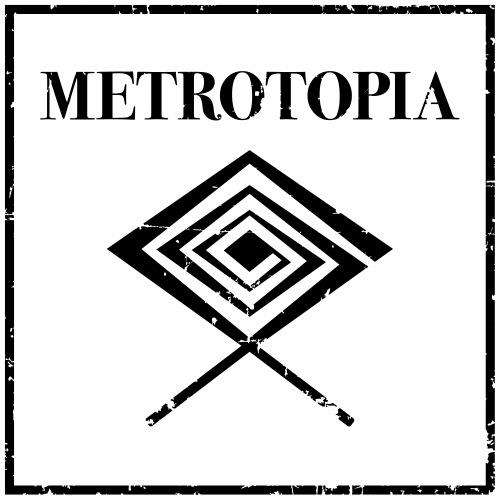 Metrotopia Records Logo - Men's Premium T-Shirt