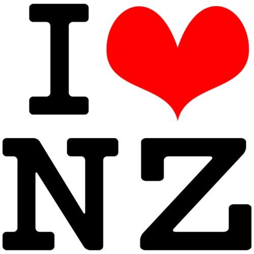 I Love NZ - Men's Premium T-Shirt