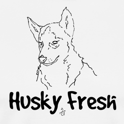 Dog Shirt   Husky Fresh 3rd - Men's Premium T-Shirt