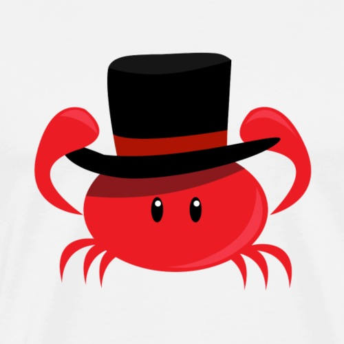 Top Hat Crab - Men's Premium T-Shirt