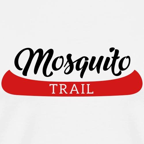 Mosquito Trail Canoe - Men's Premium T-Shirt