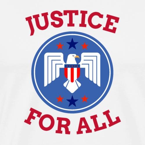 Justice For All   America - Men's Premium T-Shirt