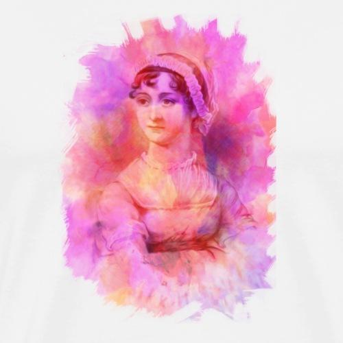 Romantic Writer | Austen - Men's Premium T-Shirt