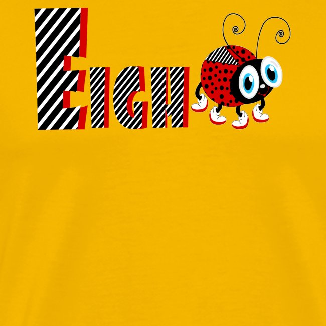 8nd Year Family Ladybug T-Shirts Gifts Daughter
