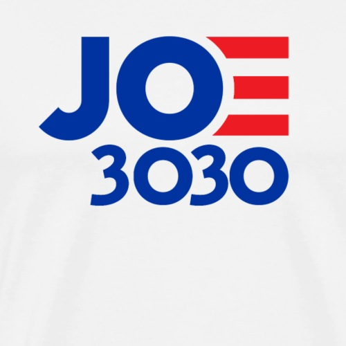 Joe 3030 - Joe Biden Future Presidential Campaign - Men's Premium T-Shirt