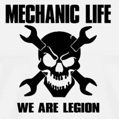 posatubi  pipelayer-posatubi Mechanic-life-we-are-legion-mens-premium-t-shirt