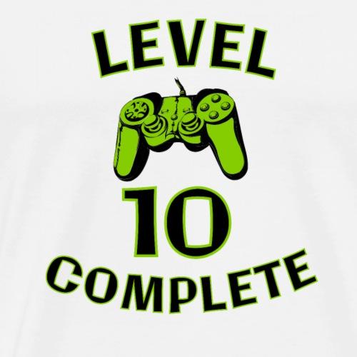 Gamer Boy 10th Birthday - Men's Premium T-Shirt