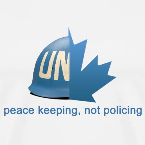 Canadian Peacekeeping - Men's Premium T-Shirt