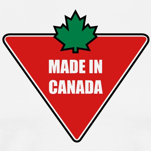 Made in Canada Tire - Men's Premium T-Shirt
