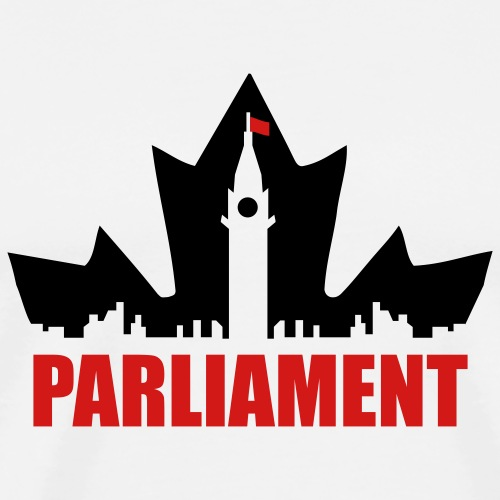 Canadian Parliament - Men's Premium T-Shirt