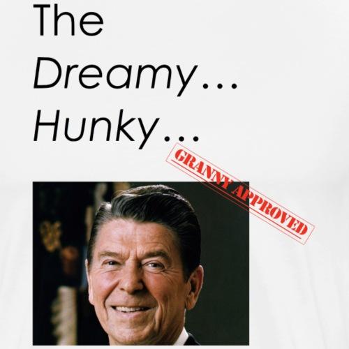 Ronald Reagan Comedy Design - Men's Premium T-Shirt