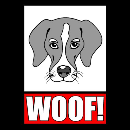 WOOF! - Men's Premium T-Shirt