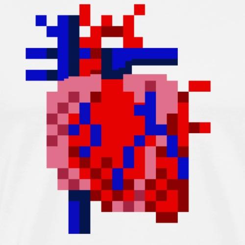 Large Scale Heart - Men's Premium T-Shirt