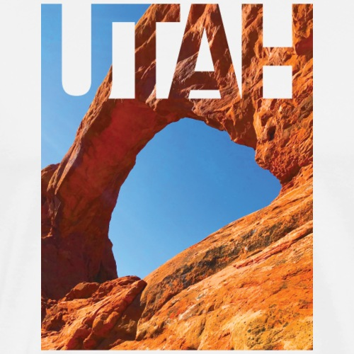 Arches National Park, Utah - Men's Premium T-Shirt