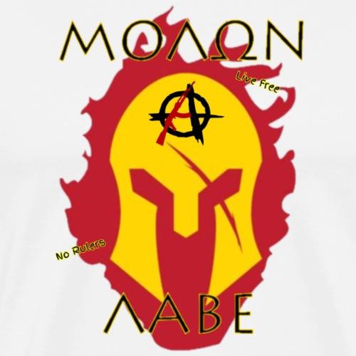 Molon Labe - Anarchist's Edition - Men's Premium T-Shirt