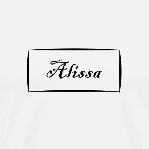 Alissa - Men's Premium T-Shirt