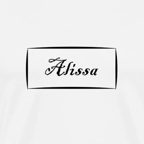 Alissa - Men's Premium T-Shirt