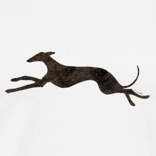 Running sighthound - Men's Premium T-Shirt