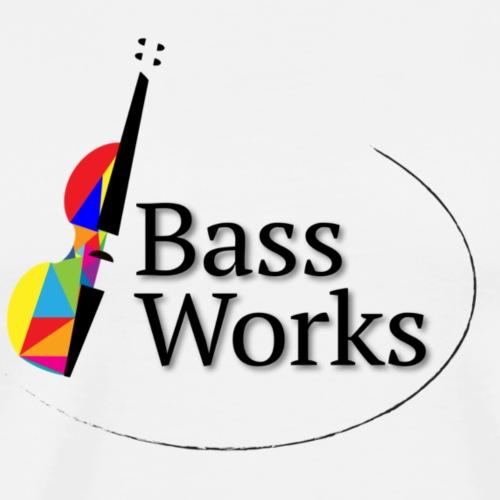 Bass Works Logo - Pride 2020 - Men's Premium T-Shirt