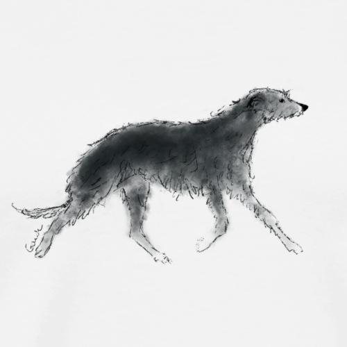 Scottish Deerhound - Men's Premium T-Shirt