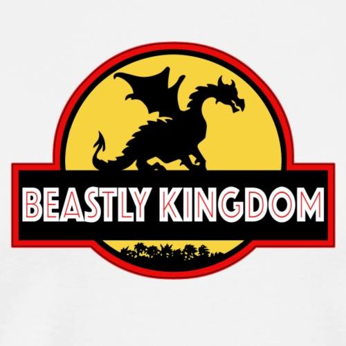 Beastly Kingdom JP Logo - Men's Premium T-Shirt