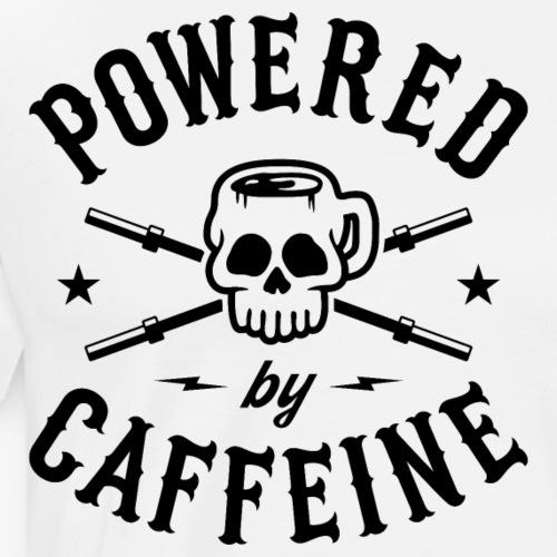 Powered By Caffeine - Men's Premium T-Shirt